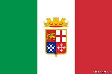 Italy Navy Ensign